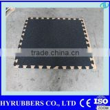 High quality cheap outdoor interlocking rubber tiles driveway