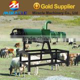 High quality screw press cow dung dewater machine for resource recycle