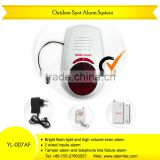 House automation! Yard security waterproof Outdoor intelligent spot alarm system with LED flash siren