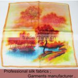 wholesale square silk cheap scarves