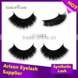 wholesale 3D strip faux mink lashes with private label false eyelash packaging