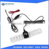 New arrival digital car radio tv antenna outdoor uhf vhf Aerial Connector with Amplifier Power antenna