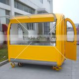 Customized Design Fast food cart- mobile kitchen cart with wheels                                                                         Quality Choice