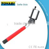 Selfie Stick with built-in Remote Shutter with Adjustable Phone Holder for smartphone and camera