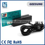 90mm USB interface card reader for pos machine msr machine