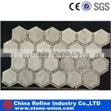 top sale marble stone mosaic tile with mesh-back                                                                                                         Supplier's Choice