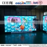 stage/shopping hall/programerble curtain die-case cabinet smd p6 indoor led rental display