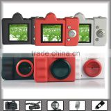 "smart mini digital camera for promotion for gift with 1.5"" display & built-in lithium battery, support TF card"