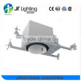 120V 4 inch new construction recessed led downlight housing for North America market ETL