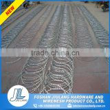Hot selling pvc panels barbed wire extension arms