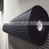 high quality 13% elongation biaxial water-soluble polyester geogrid with certification CE,