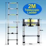 Extension Telescoping Aluminum Ladder WorkSite Required Work