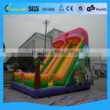 2014 Newest inflatable pool slides for inground pools/inflatable slide for pool/commercial grade inflatable water slides