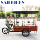 retro style three wheeled coffee bikes with thicker rear tyre
