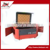 Fast speed Dowell 60w 80w 100w 150w 1410 CO2 wood textile engraving machine /non-metal laser cutter in stock