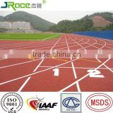 spike resistant athletic running track for sports ground