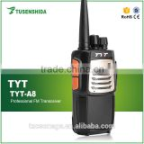 Cheap uhf handheld military two way radio tyt a8