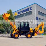 china 4WD small backhoe loader with ce