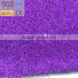 Different beautiful colors for artificial grass of garden