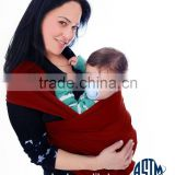 Baby Carrier-Hands Free Wrap, Perfect Support for Newborns-Wraps of Love (red)Best Sling online!