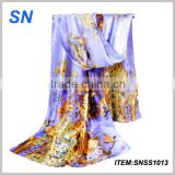 Alibaba supplier digital printing online shopping chinese silk scarf                                                                         Quality Choice