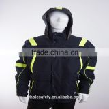 EN 343 gore-tex high performance waterproof jacket with reflective tapes