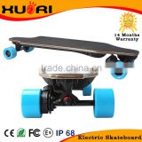 XR New dual in-wheel hub motor off road cheap electric longboard skateboard electric skateboard wholesale