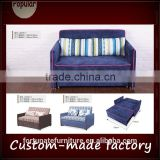 warm style futon sofa bed 1.38m single double folding multi-function sofa                                                                         Quality Choice