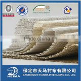 horse hair interlining buckram for army uniforms