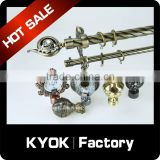 KYOK 2015 High quality!! Hotel decoration projects flexible shower curtain rod sets , mini shower curtain rod