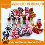 WP04 hot sale two Knots Cotton Rope Strengthen wholesale dog toys                                                                         Quality Choice