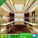 retail ring display counter/ MDF jewelry display furniture/ lighted jewellery counter display