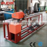 Small portable sheet and pipe beveling flame cutting machine