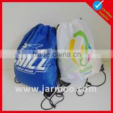Custom printed gym drawstring cloth bags
