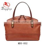 MD5-053 Big Size Britain Leather Handbag,double handle leather handbags wholesale pure cow leather handbags