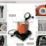 small gold / copper / silver melting furnace for jewelry ( can melt 3KG once)