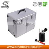 Portable Functional Hairdresser Barber Aluminum Tools Case