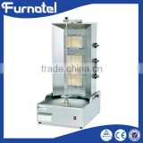 Hot sale stainless steel gas shawarma machines for fast food restaurant