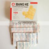 MH01-2 Mixed Size Disposable Adhesive Bandage PVC Waterproof First Aid Medical Wound Adhesive Plasters
