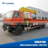 14.5 m Hoisting Height 8 Ton Dump Truck With Crane