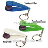 Promotional Micro Fibre Spectacles Cleaner Eyeglass Cleaner With Key Chain