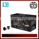 Kosher Original Italy Mixpresso Qahwa CARDAMOM espresso 50 coffee capsules compatible for Nespresso machine