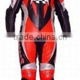 ( DL-1317 ) Leather Motorbike Suit, Leather Biker Suit