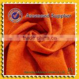 Orange dye tr brush fabric