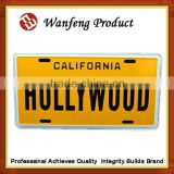 Customized wholesale license plate for car , moter licenses ,bicycle accessories