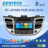 Car DVD/GPS manufacturer in China player Video 3G car dvd for Hyundai ix35 2015 car dvd with gps