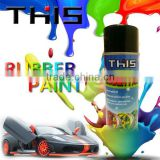 clear liquid silicone rubber coating spray for car