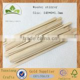 140mm wooden tea adn coffee stirrer stick