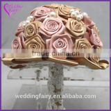 LATEST ARRIVAL Artificial Flowers Fine Design alloy bridal brooch bouquet