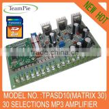 Digital audio amplifier module mp3 player board